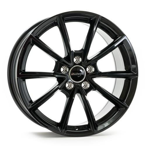 Wheelworld WH28 (7.5X17) black painted