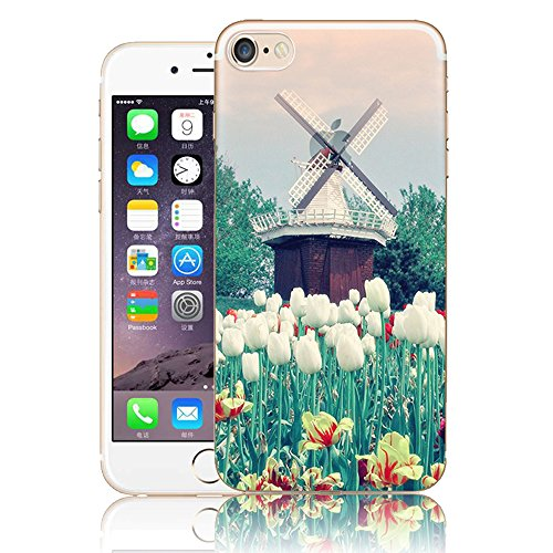 iPhone 6S Hülle, iPhone 6 Hülle, Vandot Malerei Painting Case Cover für iPhone 6S 6 Natur Design Landscape Landschaft Schutzhülle aus TPU Silikon Muster Pattern Abdeckung Telefonkasten Ultra Dünn Leic Color 1