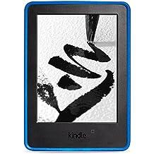 NuPro - Funda de agarre cómodo para Kindle (7ª generación - modelo de 2014), color azul