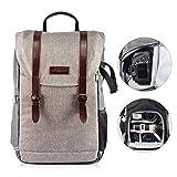 TARION RB-01 Kamerarucksack Kameratasche Wasserabweisend SLR Rucksack mit Zubehörfächer für Kameras Zubehör und Outdoor Sport Reise