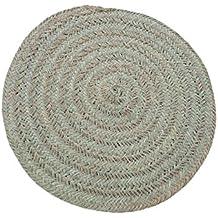 Artesanía Jacinto Luque - alfombra redonda esparto de 100 cm