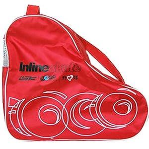 Blancho Roller & Skate Carry Bag Skate Sack Rollschuh Derdy Tote, Rot