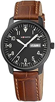 M-WATCH Swiss Made Drive 40 Analog Black Dial Men's Watch-WBD.9032