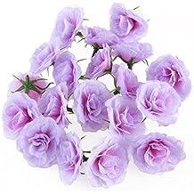 WINOMO 20pcs Cabezas de flor artificial decoración a granel del hogar de la boda