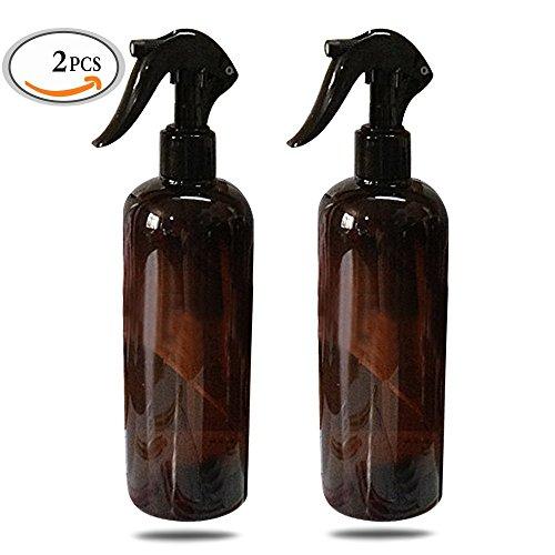 Mlmsy Empty Spray Bottle Grand Récipient réutilisable pour les produits de nettoyage des huiles essentielles ou Aromatherapy Black Trigger Sprayer et Stream Settings