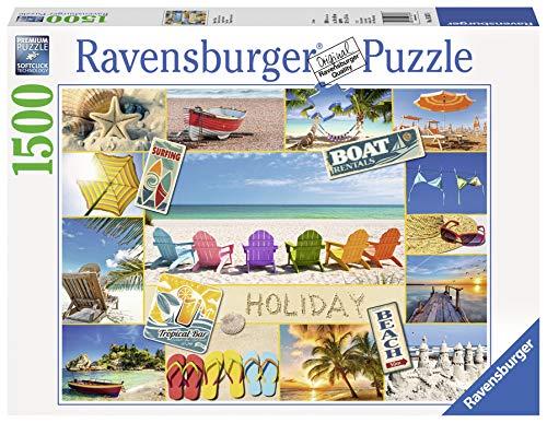 Ravensburger 16307 - Tempo di Vacanze - Puzzle 1500 Pezzi