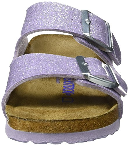 Birkenstock Arizona Birko-Flor Softfootbed, Mules Femme Violett (MAGIC Galaxy Lavender)