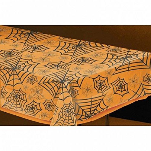 Sobremesa-de-araas-Mantel-Halloween-telaraas-Pao-para-mesa-fiesta-temtica-Elemento-ornamental-con-araas-Cubremesas-apto-para-lavar-Carpeta-decorativo-de-Halloween