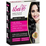 Iba Halal Care Hair Color, Dark Brown, 70g + Free Sachet