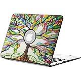 Fintie Macbook Air 13 Funda - Cuero de la PU + Cubierta de la caja de cáscara dura para Apple MacBook Air 13.3 Pulgadas (A1466 / A1369), Love Tree