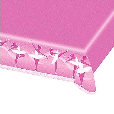 Amscan Ballett Papier Tisch Cover (Papier Tischdecken Weihnachten)