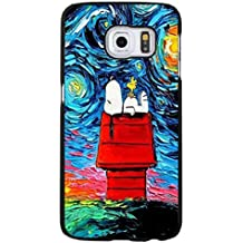 Fahionable Snoopy Phone caso Cover for Funda Samsung Galaxy S6 Edge Plus Snoopy Cartoon Design