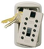 Caja guarda llaves KeySafe Slimline con cerradura de combinación (color beige)