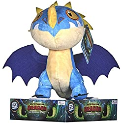 DreamWorks 12437 Train Your Dragon 3 Storm Fly - Peluche (32 cm)