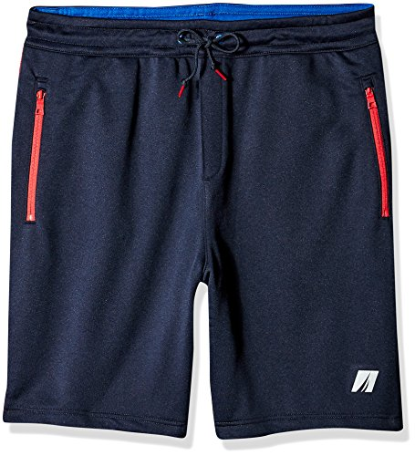 Terry Hose Kleidung Hose Knit Pants (Nautica Herren Active Fit Terry Shorts, Navy, 5X Groß)
