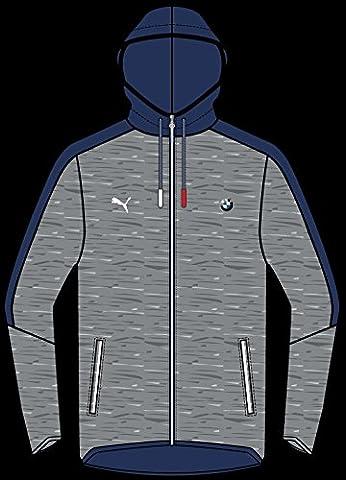 Puma Bmw Msp T7 Hooded Sweat Jacket Medium Gr XXL