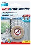 Tesa 55743-00002-02 Powerbond Nastro Biadesivo Forte, 1,5m:19mm, Trasparente