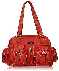 Fantosy Women's Handbag (Red) (FNB-394)