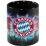 FC Bayern München Tasse / Kaffeetasse / Kaffeepott / Mug / Becher - Arena Metallic FCB - plus gratis Aufkleber forever München