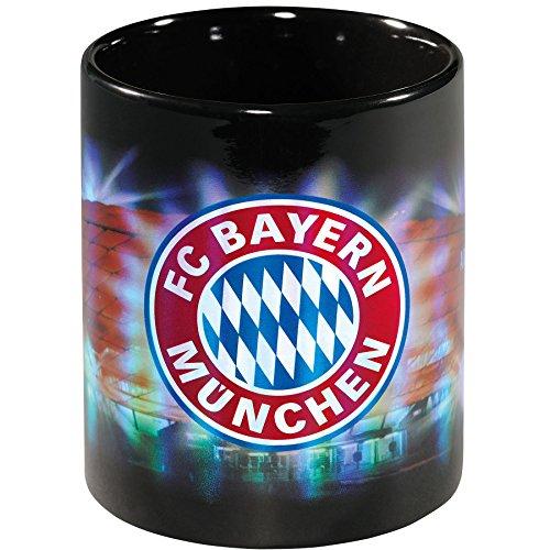 FC Bayern München Tasse / Kaffeetasse / Kaffeepott / Mug / Becher - Arena Metallic FCB - plus...