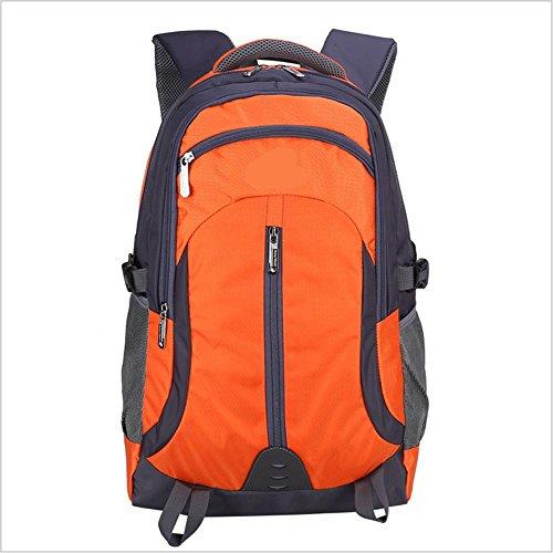Xiuxiandianju Onere di 36L - 55L grande capacità zaino viaggio tra uomini e donne sport zaino bike/escursionismo zaino da montagna all'aperto , orange Orange