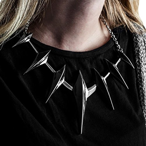 (Bioworld Merchandising / Independent Sales Black Panther Spike Cosplay Collar Necklace Standard)