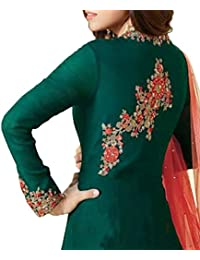 Amazon in: Georgette - Dress Material / Ethnic Wear