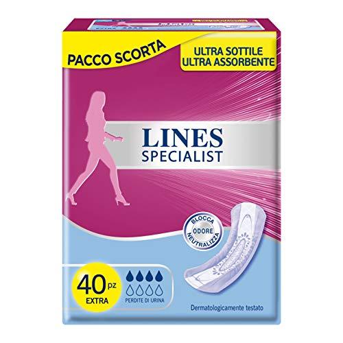 Lines Specialist productos Compresas incontinencia-4paquetes