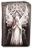 Gothic-Geldbörse mit Engel - Only Love Remains | Fantasy-Geldbeutel, Mehrfarbig