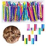 200 Stück Bobby Pins 20 Farben Haarnadeln Haar Styling Clips für Damen und Mädchen