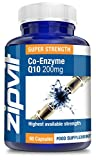 Co-Enzyme Q10 200mg, Pack of 60 Softgels, by Zipvit Vitamins Minerals & Supplements