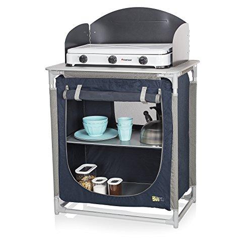 CAMPART Travel KI-0752 - Cocina de camping, color azul