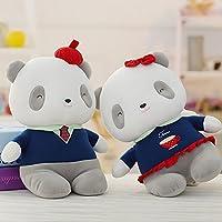 Gifts Treat Oso de peluche de juguete Un par de panda Adorable peluche de juguete para
