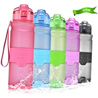 Temfly Trinkflasche - Trinkflasche Kinder - 500ml/700ml/1l - BPA Frei & Sport Wasserflasche Auslaufs