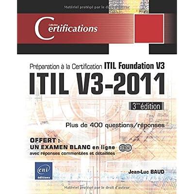 Jed Teige Itil V3 2011 Preparation A La Certification Itil