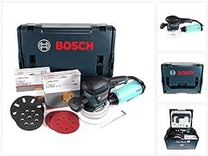 Bosch Professional 060137B103 Ponceuse excentrique GEX 125-150 AVE avec Coffret L-BOXX + 50 Abrasifs