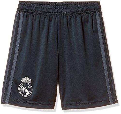 adidas Jungen Real Away Shorts 1/4, Tech Bold Onix/White, 152