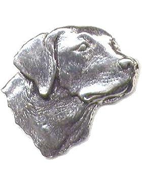 LABRADORS HUND KOPF - Hand hergestellt in Großbritannien Zinn Anstecker
