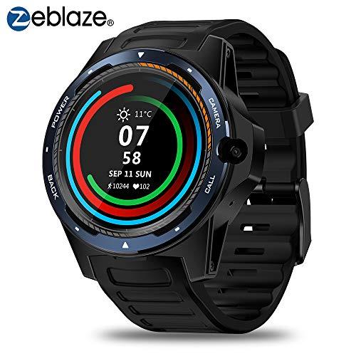 "Zeblaze Thor 5 Smartwatch 4G LTE Smart Watch Sistema Dual 8.0MP Cámara Frontal 2GB +16 GB Memoria 1.39\""Schermo AMOLED GPS Reloj Deportivo para Hombres Mujeres Compatible con Android e iOS (Azul)"