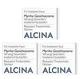 3er T Myrrhe Gesichtscreme Pflegende Kosmetik Alcina versorgt besonders trockene Hautstellen 100 ml = 300 ml