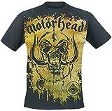 Motörhead Acid Splatter Camiseta Negro L