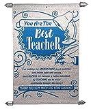 Natali Farewell Gift for Teachers - Best Teacher Scroll Card