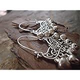 ✿ ORECCHINI TRIBAL BOHO - con campane & Hook ✿ orecchini laterali