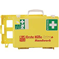 Erste-Hilfe-Koffer Extra+Handwerk, gelb preisvergleich bei billige-tabletten.eu
