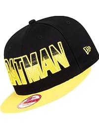 New Era x DC Comics - Casquette Snapback Homme 9Fifty Hero Fade Batman - Black / Yellow