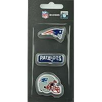 NFL Football New England Patriots dreiteiliges Pin Badge Set
