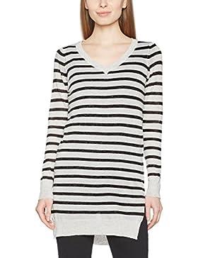 Vero Moda Vmaltha LS V-Neck Slit Blouse Boo, suéter para Mujer
