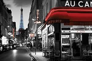 Pyramid International Rue parisienne Maxi poster, Multicolore, 61x 91.5x 1.3cm