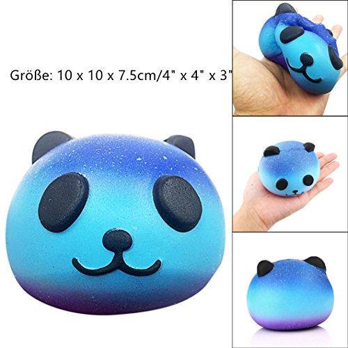 DOLDOA Panda Squishy Langsam steigende Dekompression Squeeze Spielzeug (Panda 6) (Bar Steigende Damen)