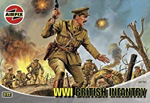 Airfix - WW.1 British Infantry, Set de Figuras (Hornby A01727)